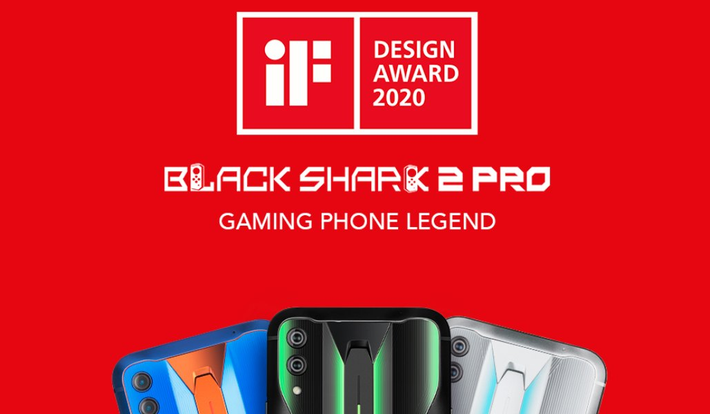 Black Shark 2 Pro gana el premio iF DESIGN AWARD 2020