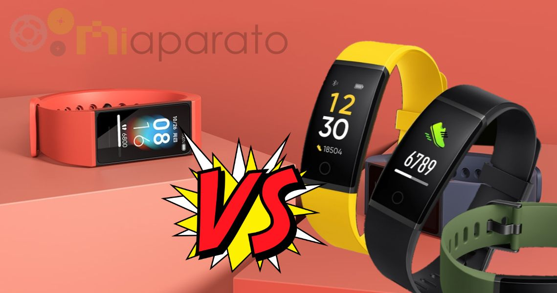 Realme Band VS Redmi Band ⇨ La comparativa definitiva
