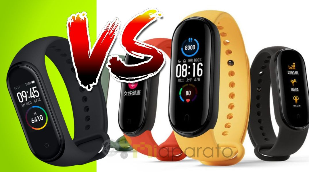 Xiaomi Mi Band 5 vs Mi Band 4 ⇨ Diferencias y similitudes