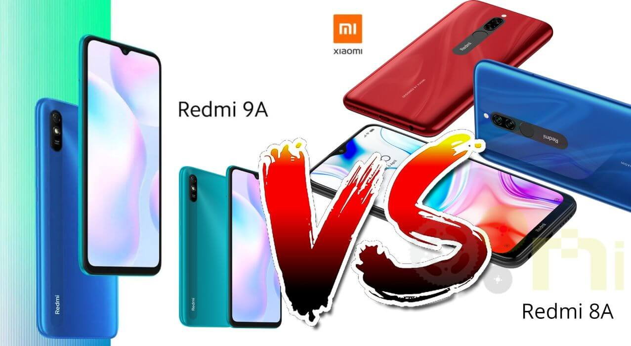 Redmi 9A vs Redmi 8A ⇨ Comparativa