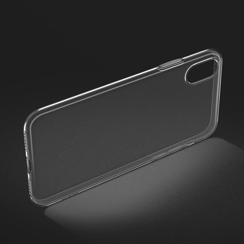 "Carcasa trasera para iPhone Xs ""Light series"" Transparente"