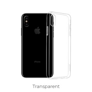 "Carcasa trasera para iPhone Xs Max""Light series"" Transparente"