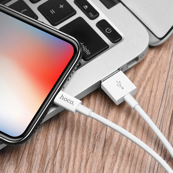 Cable de datos de carga «X23 Skilled» Apple Lightning Negro