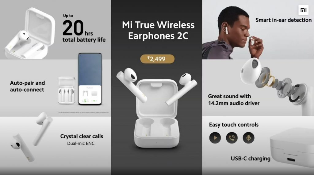 Mi True Wireless Earphones 2C